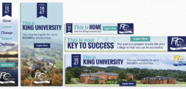 King University Web Banners