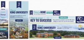 King University Web Banners