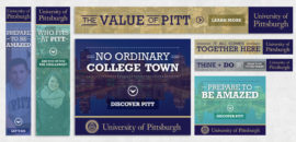 University of Pittsburgh Banners