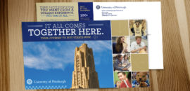 University of Pittsburgh Postcard
