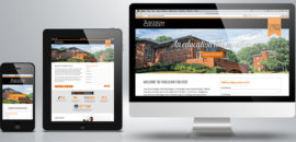 Tusculum College Landing Page