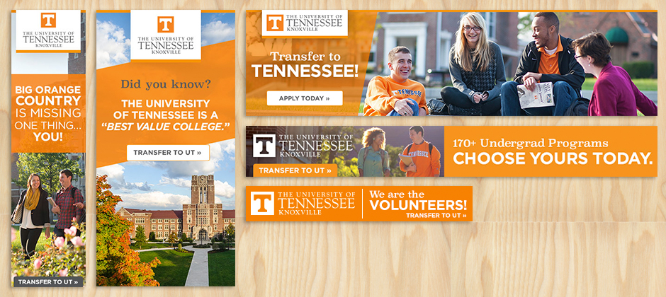 The University of Tennessee Knoxville Banners