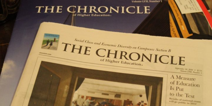 Capture in The Chronicle: Evolving Student Recruitment