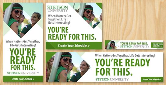 Stetson Melt Banners