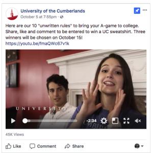 Winning Facebook