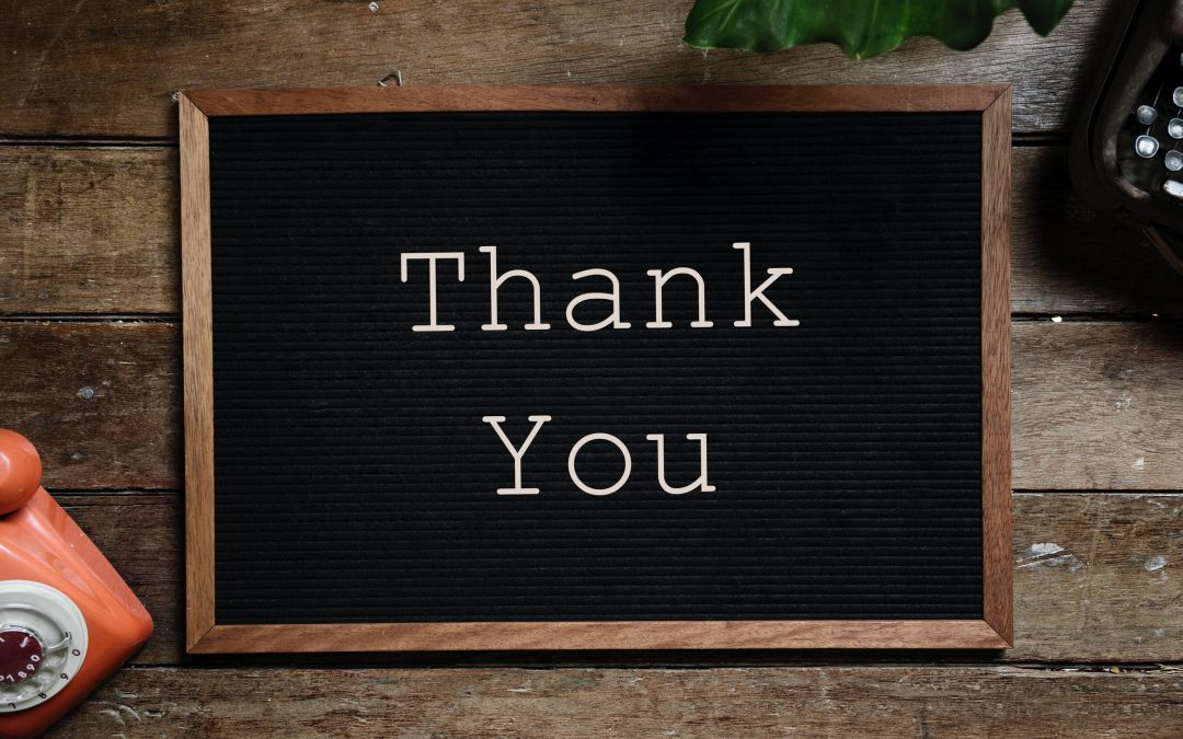 How to Make Your Monthly 'Thank You' a Window into Your University