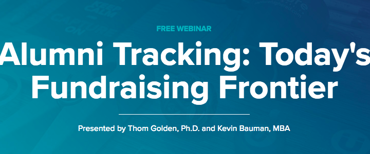 Alumni Tracking — Today's Fundraising Frontier