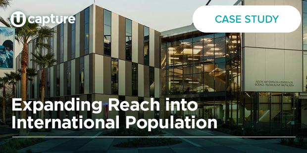 Expanding Reach into International Population – Biola University
