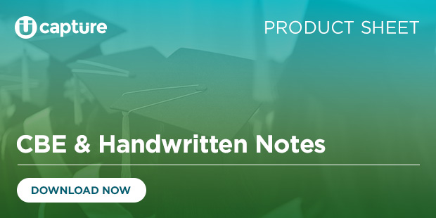 CBE and Handwritten Notes