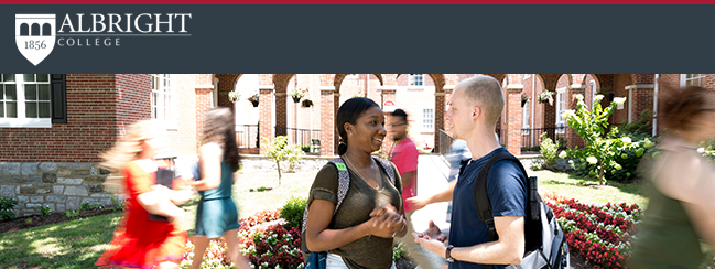 Capture Higher Ed Welcomes New Partner Albright College