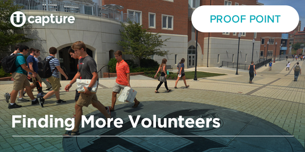 Finding More Volunteers – The University of Tennessee, Knoxville