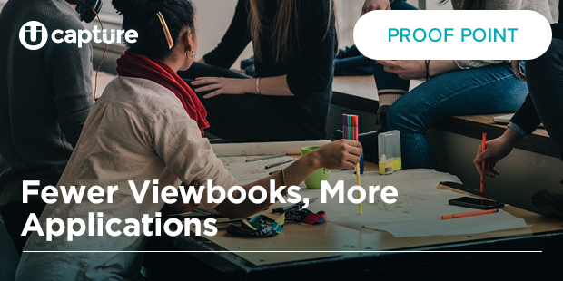 Fewer Viewbooks, More Applications