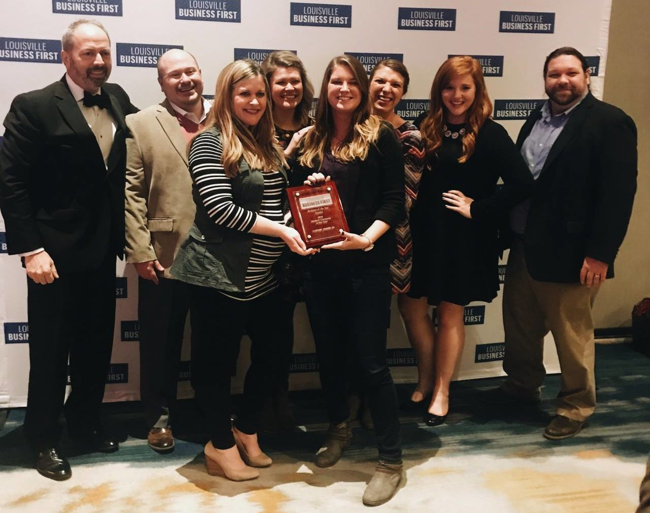 capture at Louisville Business First Award