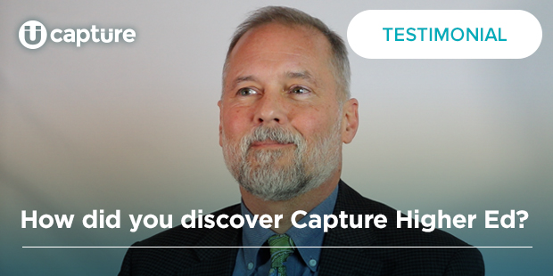 How did you discover Capture Higher Ed? | Scott McIntyre