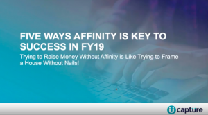 5 WaysAffinity is Key to Success in FY19
