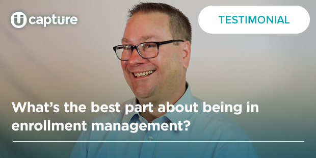 What's the best part about being in enrollment management? | Andy Johnson