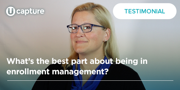 What's the best part about being in enrollment management? | Beth Keserauskis