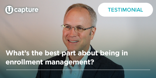 What's the best part about being in enrollment management? | Boyd Bradshaw