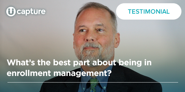 What's the best part about being in enrollment management? | Scott McIntyre