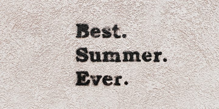 Finish, Freeze, Future: Summertime in the Admissions Offices