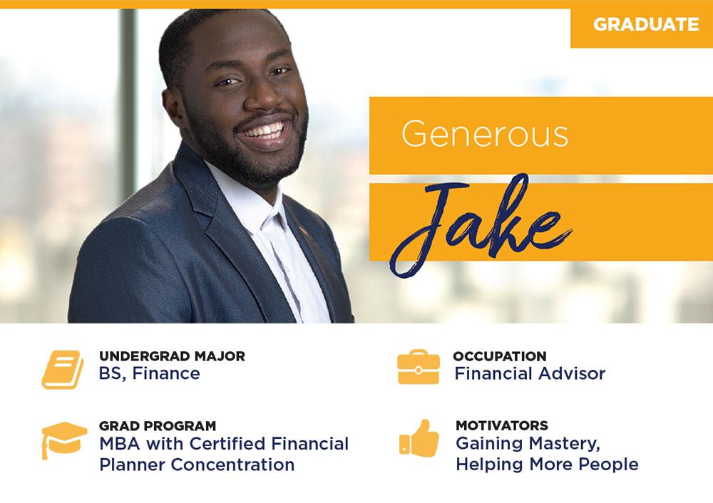 man smiling named Jake